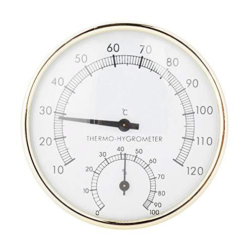 Cryfokt Sauna Geräte und Zubehör Sauna Eimer, Sauna Thermometer, Sauna Sanduhr, für Sauna Home