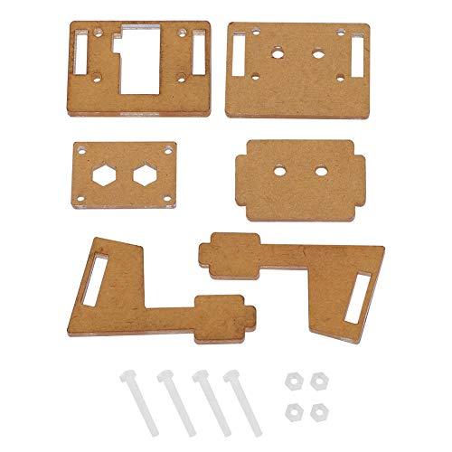 ABS Camera Behuizing Beugel Behuizing Ondersteuning Past voor Raspberry Pi Camera V2, eenvoudige installatie
