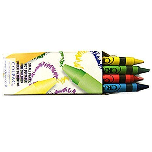 H&B 20 Packs of Wax Crayons with 4 Wax Crayons per Pack