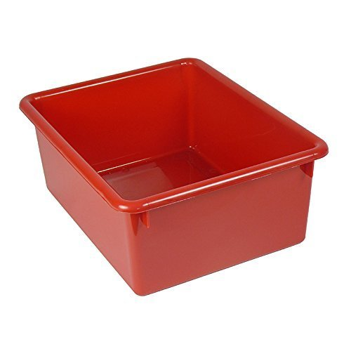 5in Stowaway Letter Box Red No Lid by ROMANOFF PRODUCTS