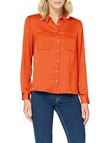 Garcia Women's Gs000831 Blouse, Spice Orange, X-Large