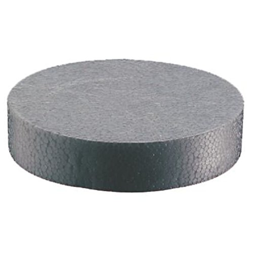 100 Stück Styropor Rondelle EPS grau WLG032 Dämmstoffdübel NEOPOR Fassade Dämmstoffhalter Fassadendämmung Wärmedämmung silbergrau