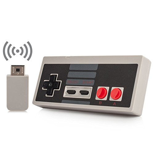 Wireless NES Mini Classic Controller,NES Wireless Gamepad For Nintendo Mini NES Classic Edition, Wireless Joypad & Gamepads Controller for Nintendo NES Mini Classic Edition Game System By HL Global