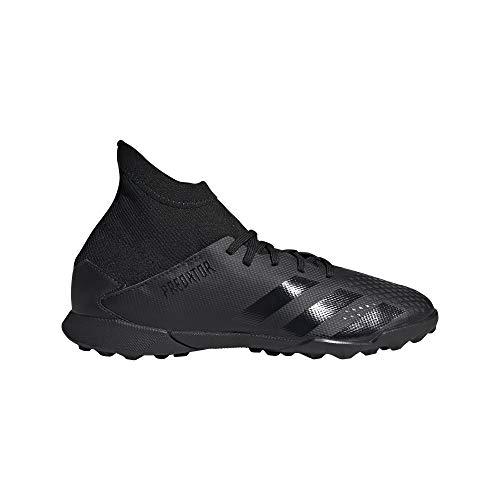 adidas Predator 20.3 TF J, Zapatillas Deportivas Unisex niños, Core Black/Core Black/DGH Solid Grey
