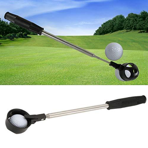 Kamre roestvrijstalen telescopische golfbal picker-grijper-gereedschap