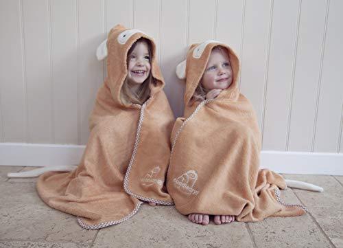 Knuffel aap peuter handdoek