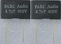 フィルムコンデンサー(4.7uF) 2個セット DCP-FC003-470-2