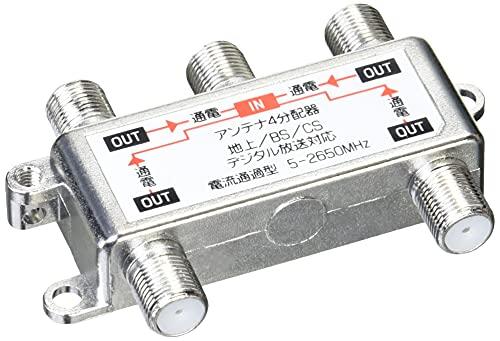 アイネックス アンテナ分配器 4分配 ANT-02A