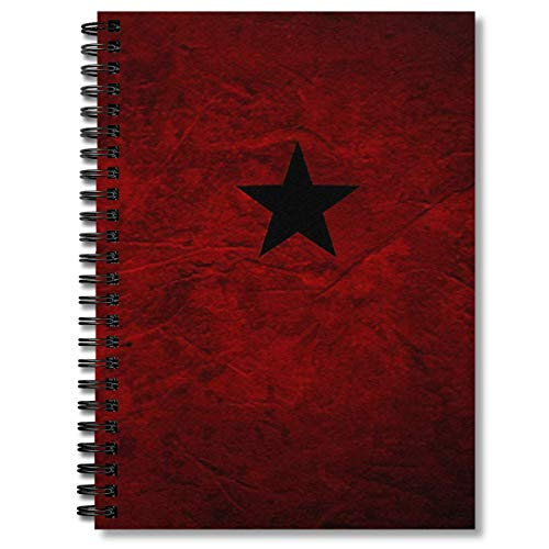 Spiral Notebook Captain America Civil War Soviet Manual Composition Notebooks Journal With Premium Thick Paper