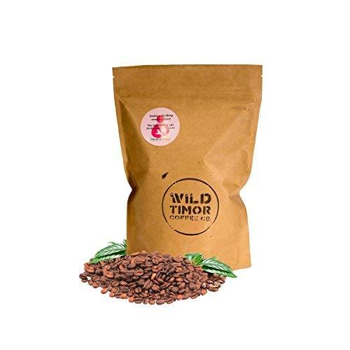 AWARD-WINNING Australian Coffee - Wild Timor Coffee. Wild Organic Whole Bean Coffee. Direct Trade from East Timor, 500g(1.1lb).