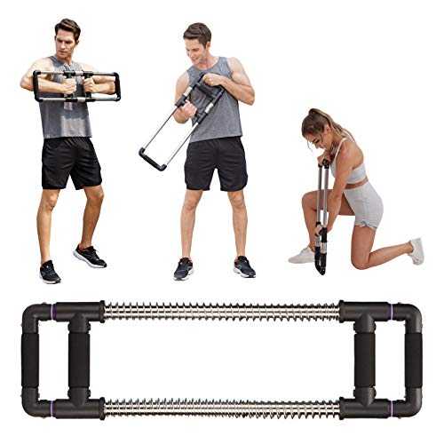 GOFITNESS Portable Home Gym Workout Equipment, Push Down Machine for Full Upper Body Workout - Fitness Resistance Trainer for Exercise at Home, Office or Travel