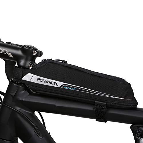 ROSWHEEL Aero aerodinámico Ligero Carretera Bicicleta Tubo Superior Marco de Carga Bolsa