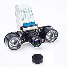 Smraza Camera Module for Raspberry Pi 4 with 5MP 1080p OV5647 Video Webcam Supports Night Vision Camera Module Compatible with Raspberry Pi 3 B+ / 3B / 2 Model B B+