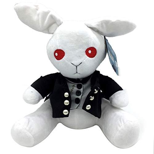 SGOT Anime Black Butler Plüschtier, Kuroshitsuji Ciel Phantomhive Peter Kaninchen Plüsch benutzerdefinierte Plüschtier Puppe 30cm(Style 02)