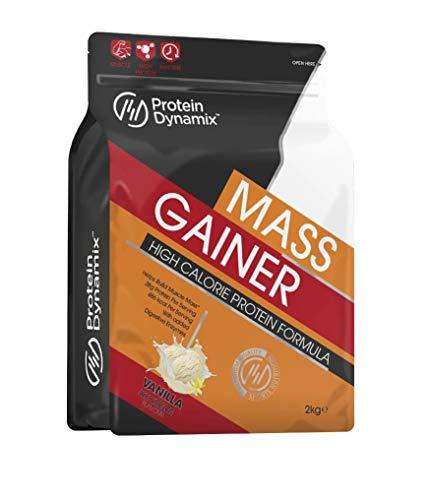 Protein Dynamix 2kg Complete Mass Gainer High Calorie Weight Gain Formula (Vanilla Ice Cream)