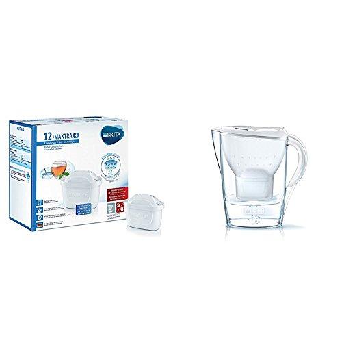 BRITA MAXTRA+ - Filtro de agua 100 l, pack de 12 meses...