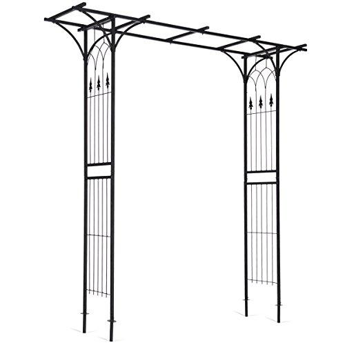 Garden Wedding Rose Arch Pergola Archway Flowers Climbing Plants Trellis Metal