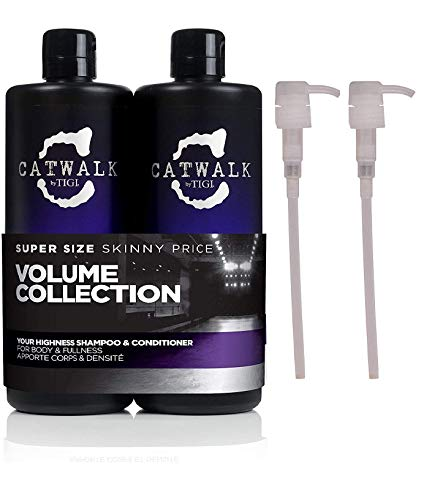 REDUCED: Tigi Catwalk Your Highness Tween Shampoo & Conditioner Duo 2 x 750ml