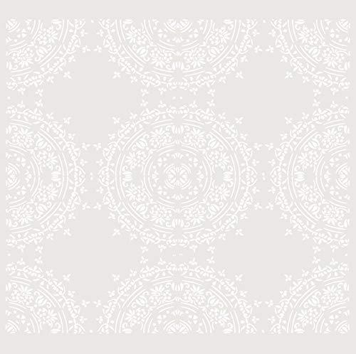 TODO-STENCIL Packung mit 4 wiederverwendbaren Schablonen aus Kunststoff, Maße ca. 20 x 20 cm