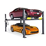 BendPak 4-Post Car Lift - 9000-Lb. Capacity, Gray Model Number HD-9
