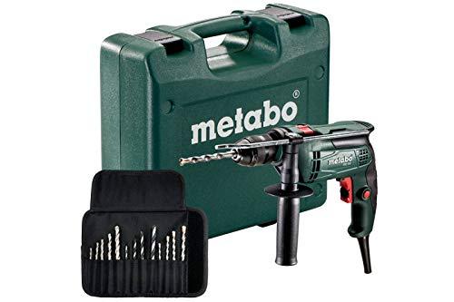 Metabo Schlagbohrmaschine SBE 650 mit 9tlg Bohrersatz