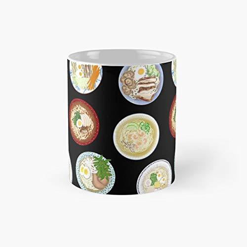 Ramen Noodles Classic Mug   Best Gift Funny Coffee Mugs 11 Oz