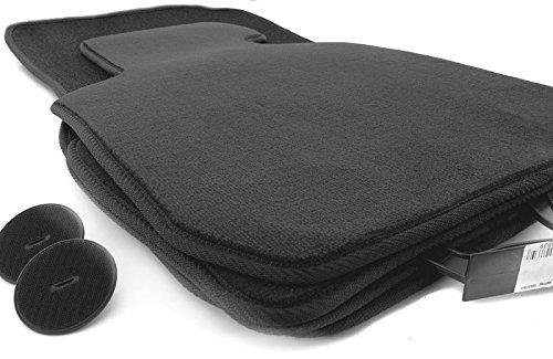 Fußmatten E87 1er M1 (Velour) Automatten Set 4-teilig, schwarz, inkl. Boden Befestigung