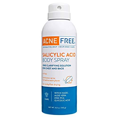 Acnefree Salicylic Acid Body Spray 5 Oz