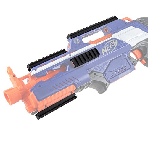 LoKauf WORKER Mod Full-covered Grooved Top Rail Mount Kit Schiene Konverter Zubehör für Nerf N-Strike Elite Rapidstrike CS-18