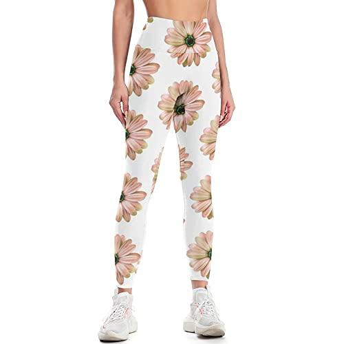 QTJY Pantalones de Yoga para Levantar la Cadera de Cintura Alta para Mujer, Pantalones de Ejercicio Push-up para Gimnasio, Leggings para Celulitis elásticos, Pantalones para Correr C S