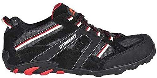 Enjauneert Strauss 8P93.53.8.42 Chaussures basses de sécurité sécurité sécurité Noir gris rouge Taille 42 aae