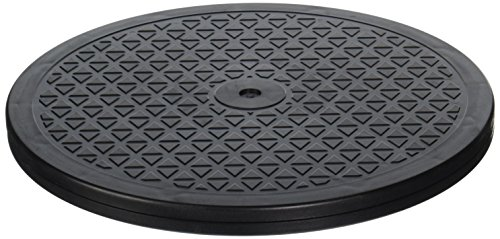 LapWorks 15 inch Heavy Duty Swivel - for Computer Monitors, Potted Plants, Art, and Various Utility uses with Steel Ball Bearings