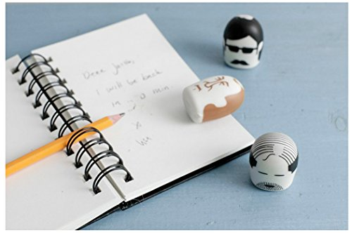 Kikkerland Erasers, Mustache, Set of 2 (ER15P) Photo #5