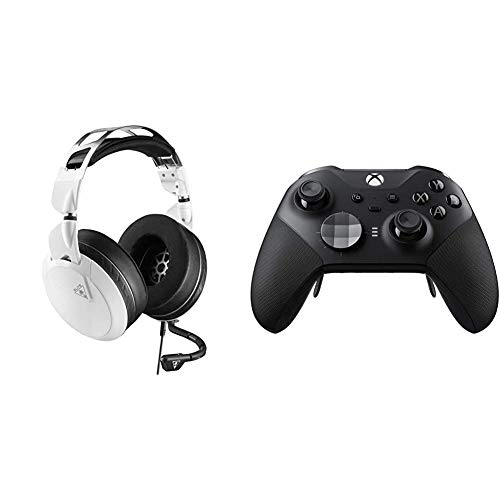 Turtle Beach Elite Pro 2 White Pro Performance Gaming Headset for Xbox One, PC, PS4, XB1, Nintendo Switch, and Mobile...