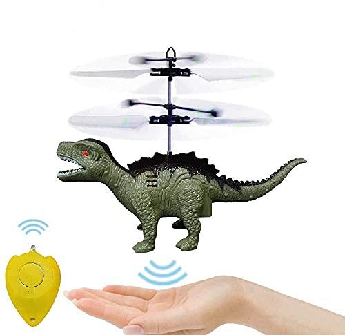 Hubschrauber Ferngesteuert Indoor, Mini Helikopter Spielzeug Ferngesteuert Fliegender Dinosaurier Helikopter Kinder