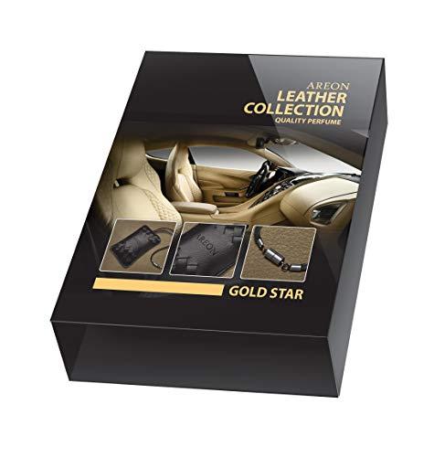 AREON Leder Kollektion Goldener Stern