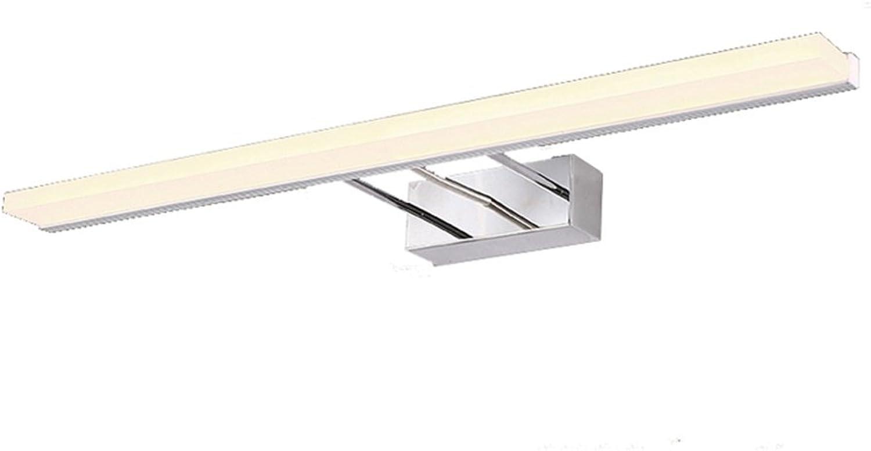 Bild Frontleuchte Nordischen Stil Badezimmer Toilette LED Spiegel Front Licht Einfache Mode Make-up Lichter Wasserdichte Anti-Fog Wandleuchte Spiegel Schrank Lichter Eitelkeitslicht