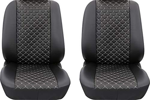 Stoelhoezen hoes 2-delig beschermhoes stoelbekleding VW T5 Transporter T6 Caddy etc.