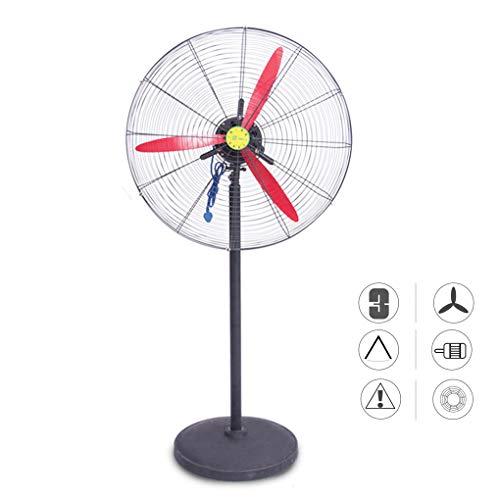 RXBD fan Industrial Ventilador de Piso de pie oscilante, Tranquilo Enfriamiento Abanico de Pedestal, para Dormitorio, Oficina, Tienda, Casa, Fábrica