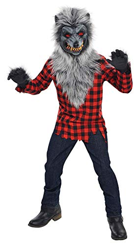 Amscan International Hungry Howler - Costume licantropo – 12-14 anni.