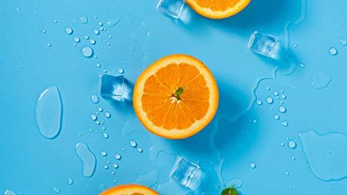 Naranja, Rompecabezas de Cubo de Hielo 1000 Piezas, niños Adultos, Ocio, Entretenimiento, Juguete, Rompecabezas DIY, Rompecabezas de decoración del hogar