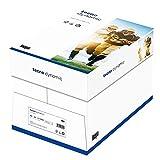 inapa Tecno Dynamic - Papel para impresora multifunción (80 g/m², A4, 2500 hojas, 5 x 500), color blanco