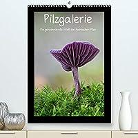 Pilzgalerie - Die geheimnisvolle Welt der heimischen Pilze (Premium, hochwertiger DIN A2 Wandkalender 2022, Kunstdruck in Hochglanz): Herrliche Pilzaufnahmen im Hochformat (Monatskalender, 14 Seiten )