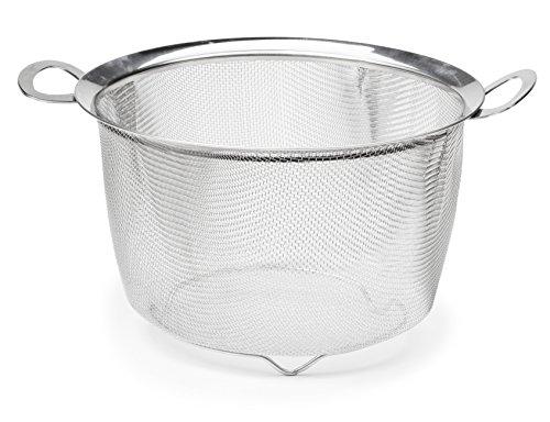 RSVP Endurance 9 Inch Wide Rim Mesh Basket