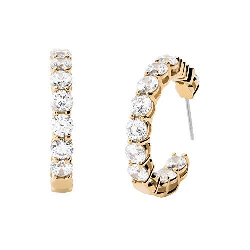 Michael Kors Women's Gold-Tone Brass Hoop Earring (Model: MKJ7310710)
