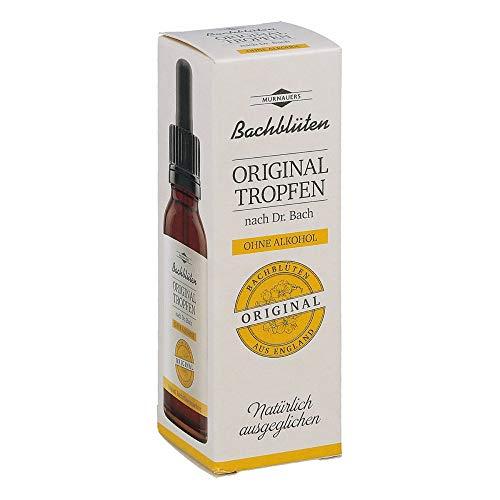 BACHBLÜTEN Original Tropfen ohne Alkohol n. 20 ml