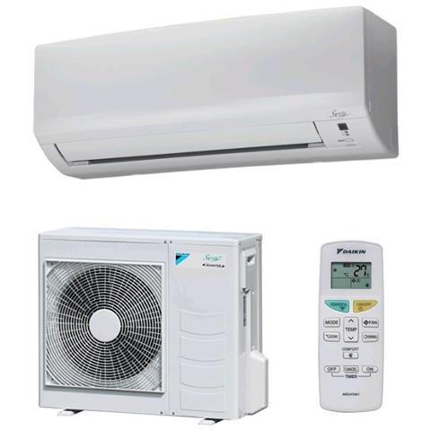 DAIKIN KIT9ECOPLUSBOP Serie Siesta Eco Plus Condizionatore Fisso Monosplit Inverter Con Pompa Di Calore 9000 Btu / H Classe A+ / A+
