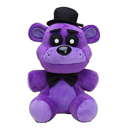 FNAF Toy Freddy Plushie Fazbear Toys Five Night at Freddy Purple Bear Nightmare Cupcake Foxy Balloon Boy Clown Stuffed Dolls FNAF Plushies