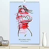 Minimal-Art, Aktzeichnung (Premium, hochwertiger DIN A2 Wandkalender 2022, Kunstdruck in Hochglanz): Minimal-Art, Aktzeichnung (Monatskalender, 14 Seiten )