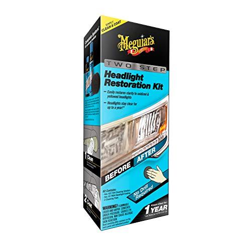 Meguiar's G2970 Two Step Headlight Restoration Kit